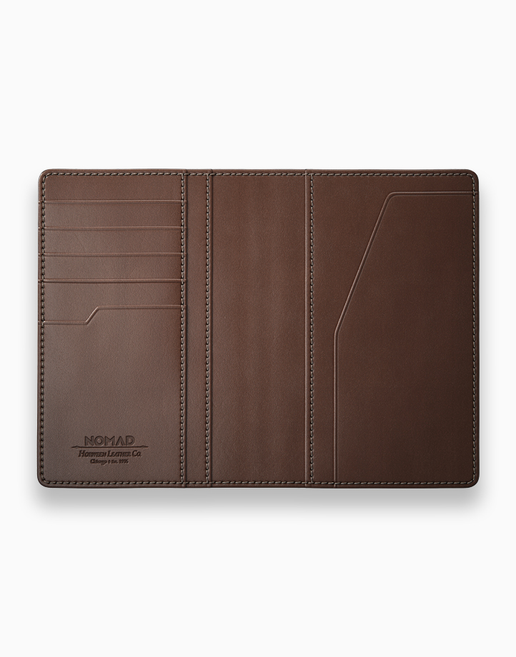 Passport Wallet with Tile Tracker by NOMAD | Rustic Brown
