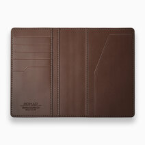 Re passport wallet with tile tracker rustic brown 2