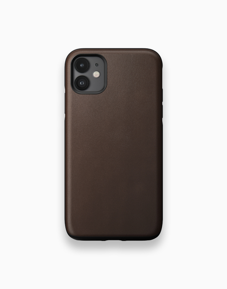 Rugged Case for iPhone 11 by NOMAD   Rustic Brown