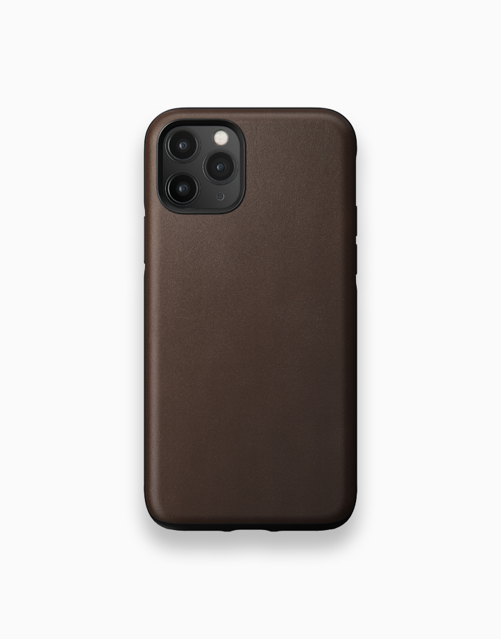 Rugged Case for iPhone 11 Pro by NOMAD   Rustic Brown