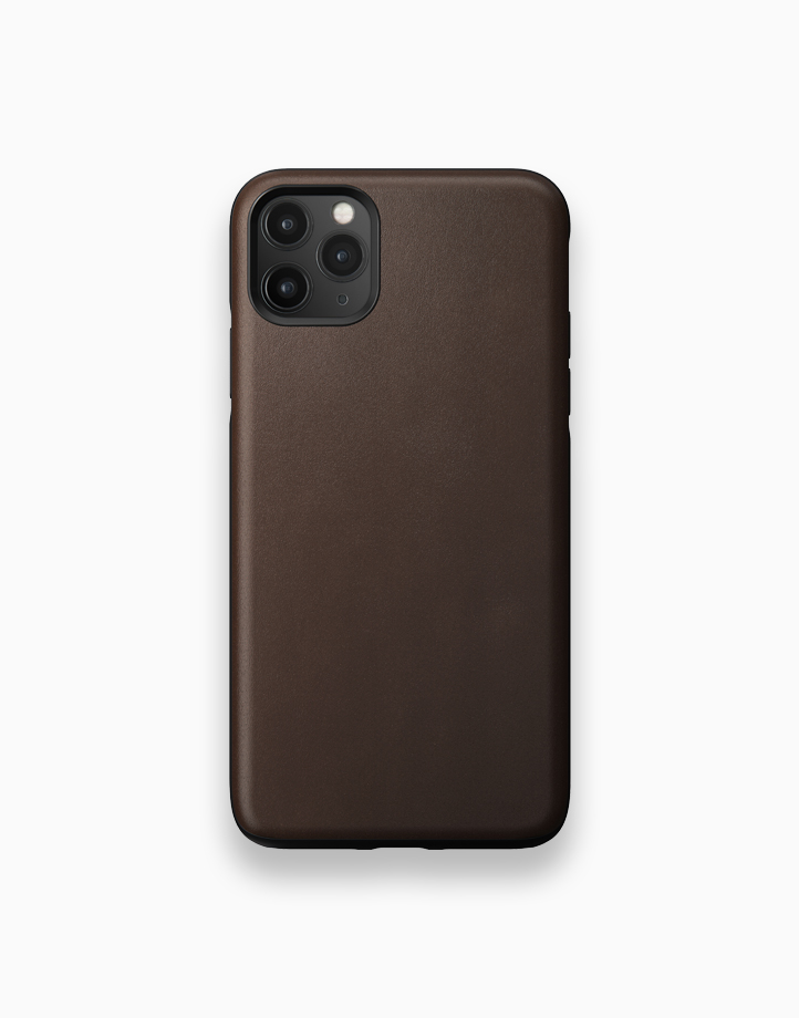 Rugged Case for iPhone 11 Pro Max by NOMAD   Rustic Brown