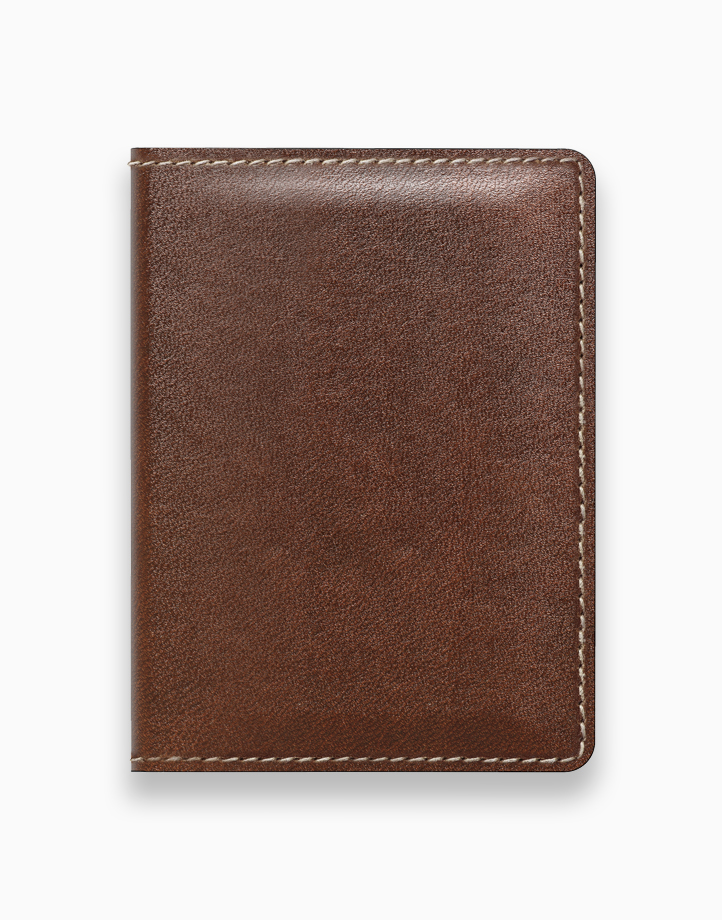Slim Wallet by NOMAD | Rustic Brown Leather