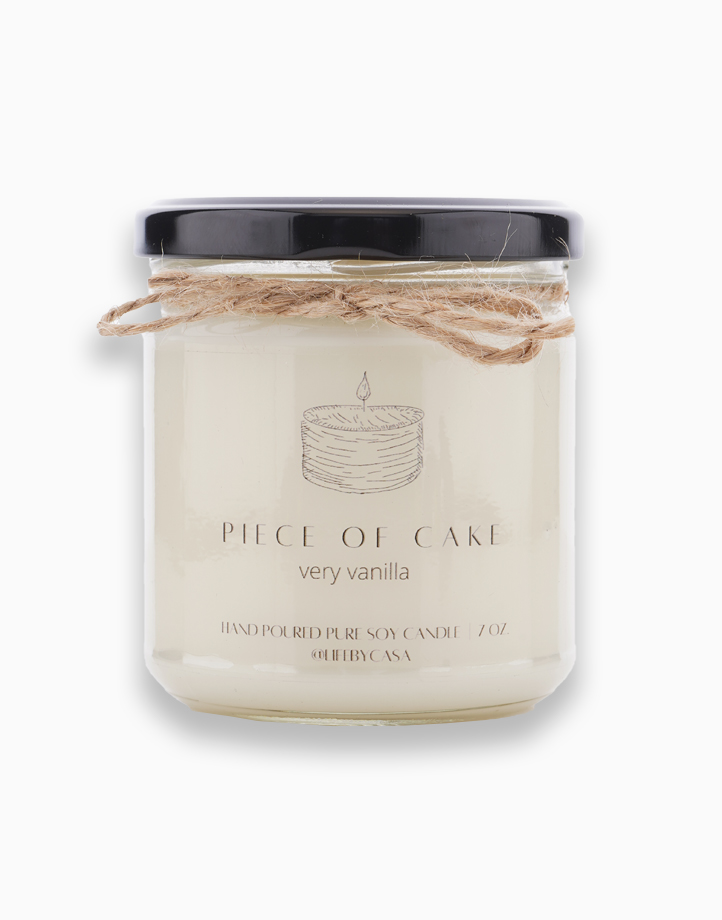 A Piece of Cake Soy Candle (Very Vanilla) 7oz by Life by CASA