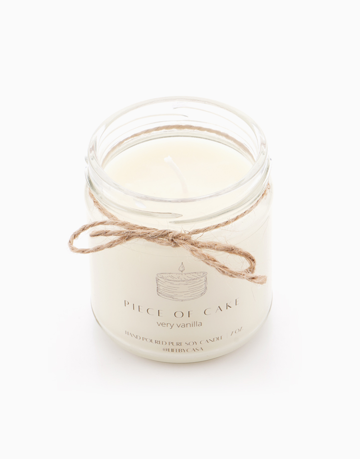 A Piece of Cake Soy Candle (Vanilla) 7oz by Life by CASA