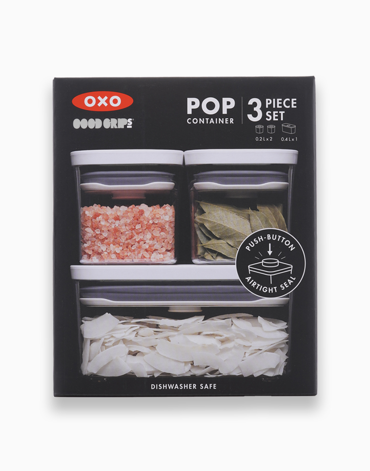 Good Grips POP Container, Three-Piece Starter Set by Oxotot