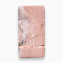 Compact power bank 5200mah pink marble 1