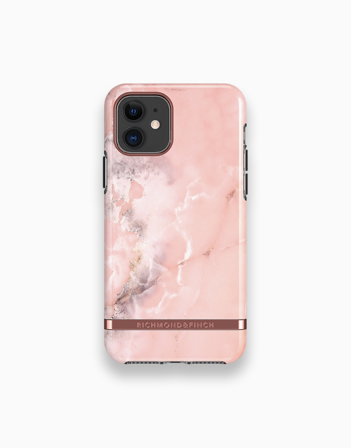 iPhone 11 - Pink Marble / Rose Gold by Richmond & Finch