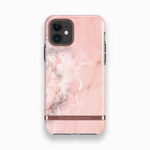 Iphone 11   pink marble   rose gold 1