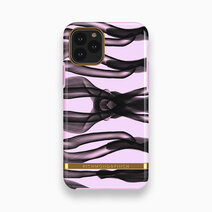 Iphone 11 pro max   pink knots   gold 1