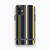 Iphone 11   navy stripes   black 1