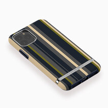 Iphone 11 pro max   navy stripes   black 2