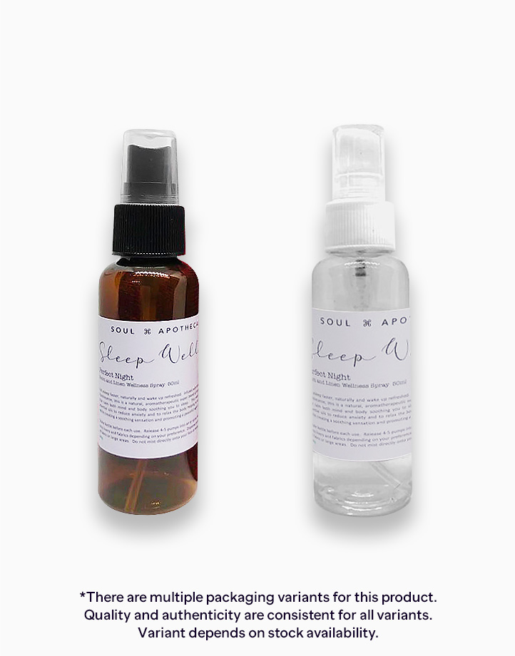 Sleep Well Room and Linen Wellness Spray (50ml) by Soul Apothecary | Perfect Night