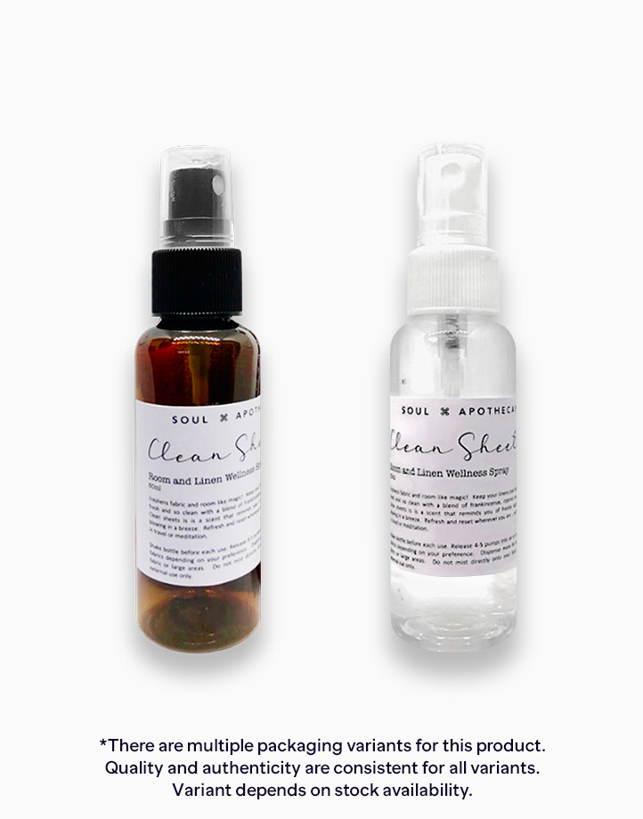 Clean Sheets Room and Linen Wellness Spray (50ml) by Soul Apothecary