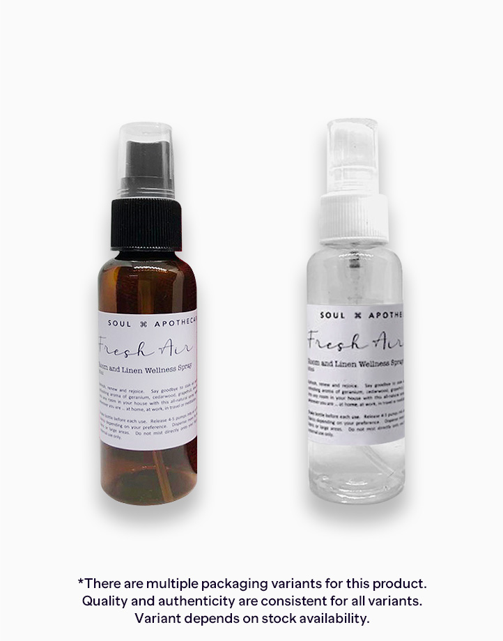 Fresh Air Room and Linen Wellness Spray (50ml) by Soul Apothecary