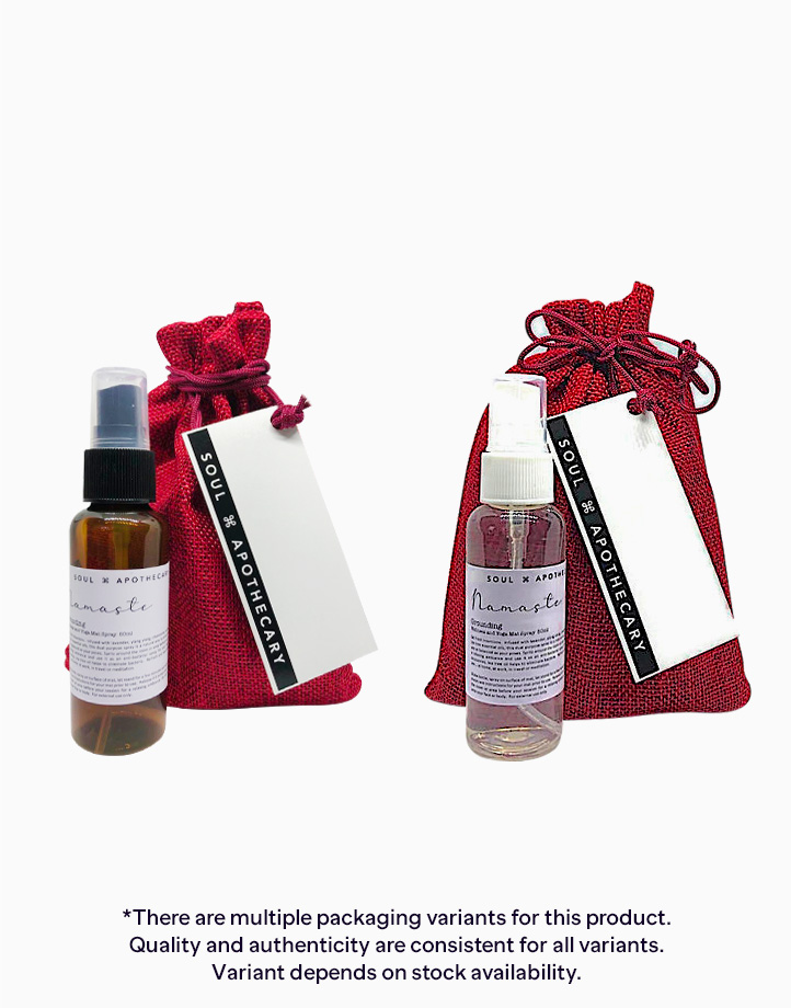 Wellness Spray in Maroon Gift Pouch by Soul Apothecary |