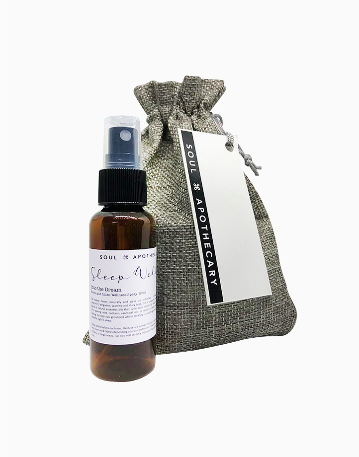 Wellness Spray in Gray Gift Pouch by Soul Apothecary |