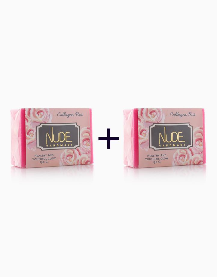 Collagen Bar (130g) (Buy 1, Take 1) by Nude Handmade Essentials