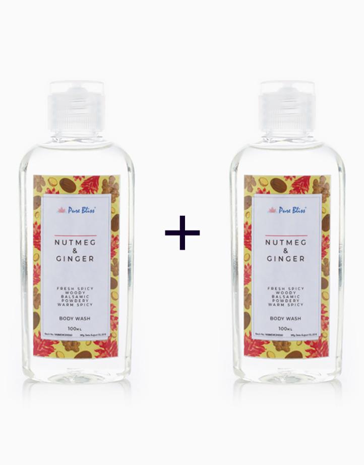 Bath Wash (100ml) (Buy 1, Take 1) by Pure Bliss | Nutmeg & Ginger