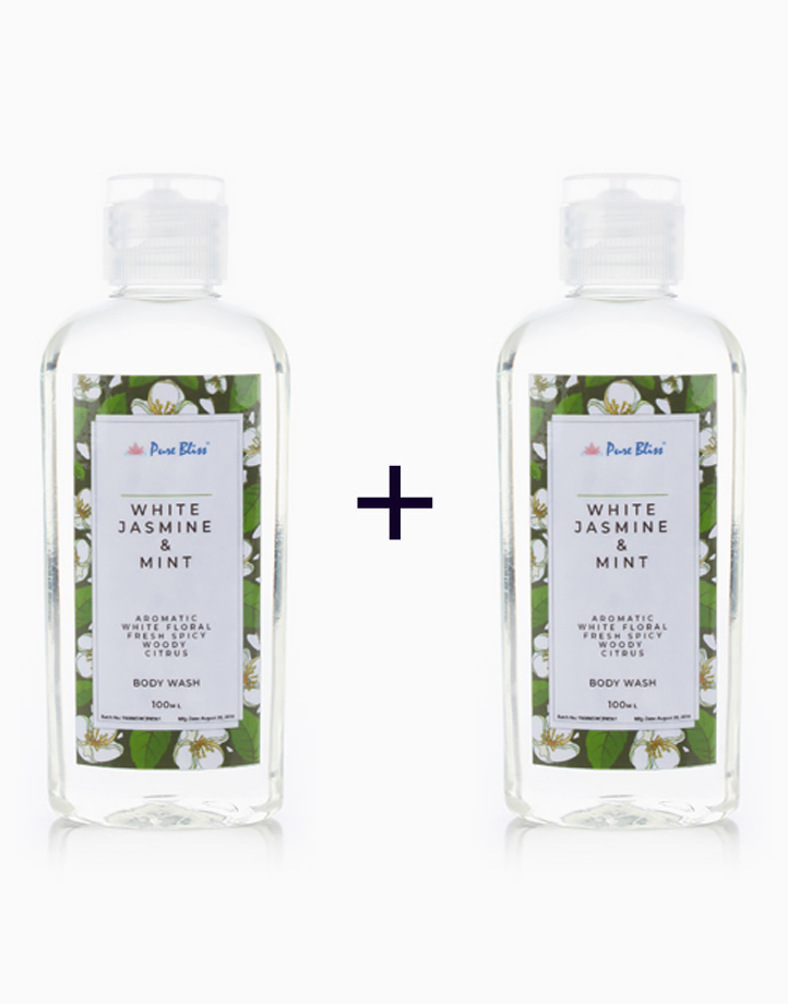 Bath Wash (100ml) (Buy 1, Take 1) by Pure Bliss | White Jasmine & Mint