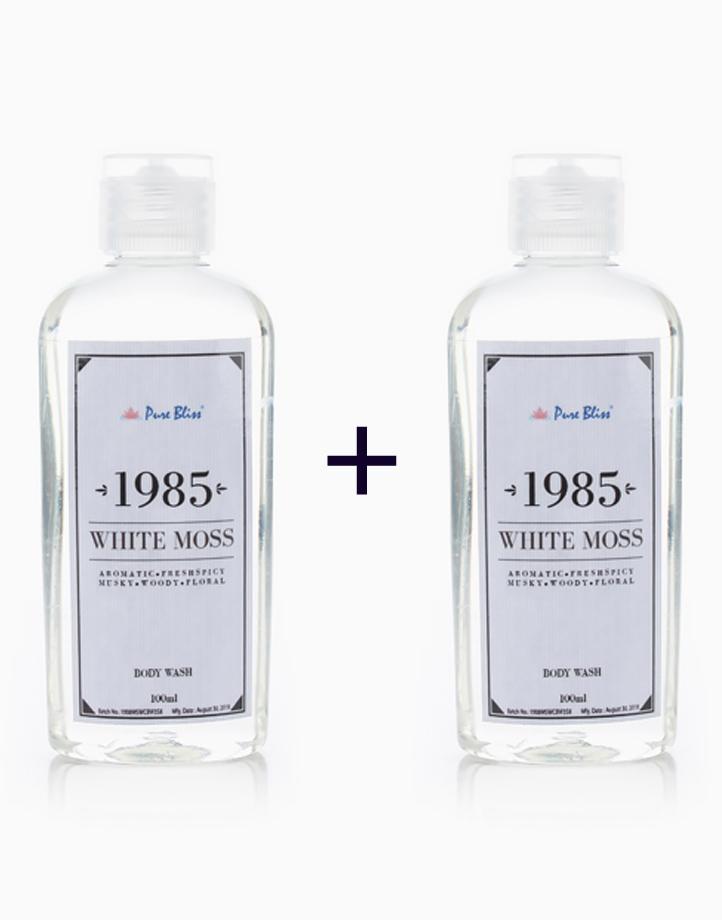 Bath Wash (100ml) (Buy 1, Take 1) by Pure Bliss | 1985 White Moss