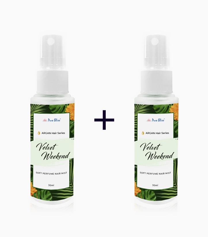 Argan Hair Series Velvet Weekend Hair Perfume (30ml) (Buy 1, Take 1) by Pure Bliss