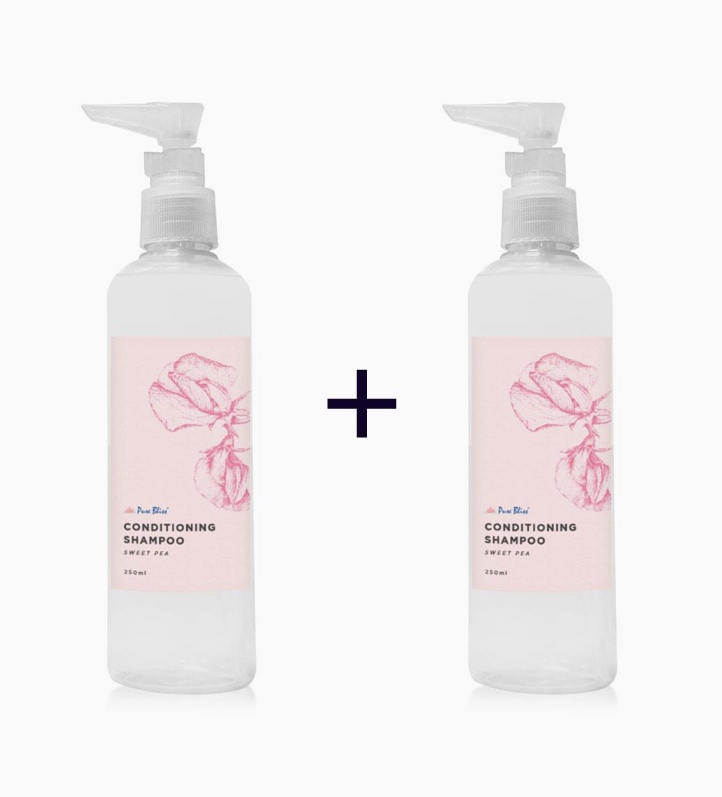 Pure Bliss® Sweet Pea Conditioning Shampoo (250ml) (Buy 1, Take 1) by Pure Bliss