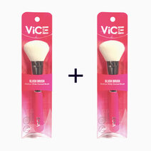 B1t1 vice cosmetics pink brush collection blush brush