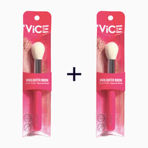 B1t1 vice cosmetics pink brush collection highlighter brush