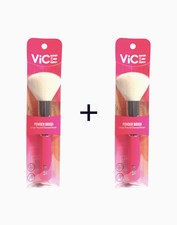 Pink Brush Collection Powder Brush (Buy 1, Take 1) by Vice Cosmetics