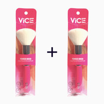 B1t1 vice cosmetics pink brush collection powder brus
