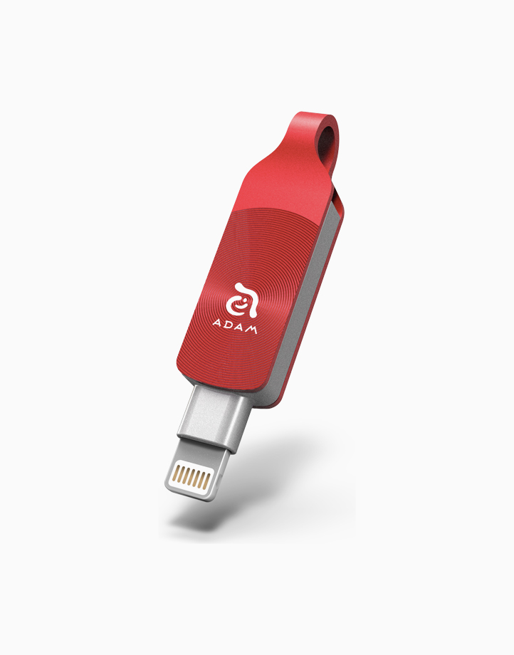 iKlips Duo+Premium Apple Lightning Flash Drive (32GB) by Adam Elements | Adam Red