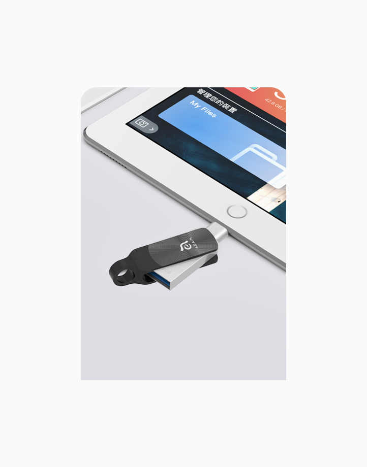 iKlips Duo+Premium Apple Lightning Flash Drive (32GB) by Adam Elements | Rebel Onyx