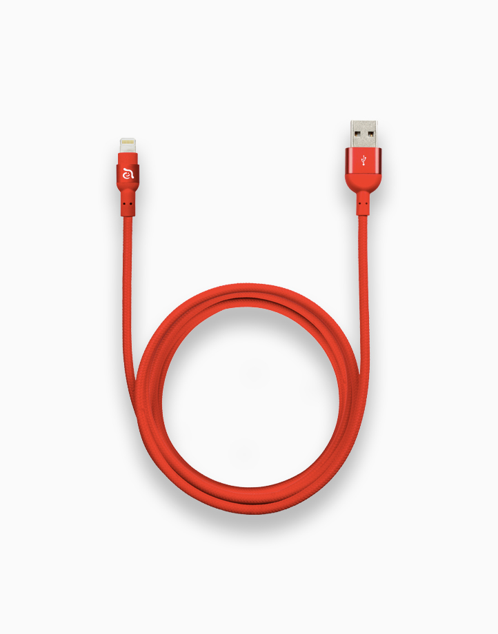PeAk II Cable MFi Lightning (300cm) by Adam Elements | Red