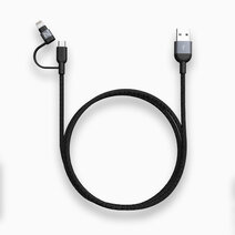 PeAk II Duo Cable MFi Lightning & Micro USB (120cm) by Adam Elements