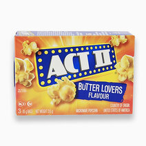 Act ii popcorn butter lovers flavour 85g x 3 packs