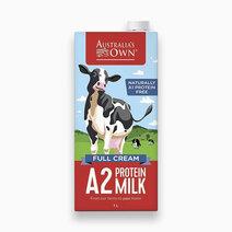 Australi a s own full cream protein milk 1l
