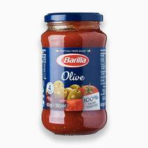 Barilla olive sauce 100  italian tomatoes 400g