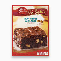 Betty crocker delights supreme walnut brownie mix 467g