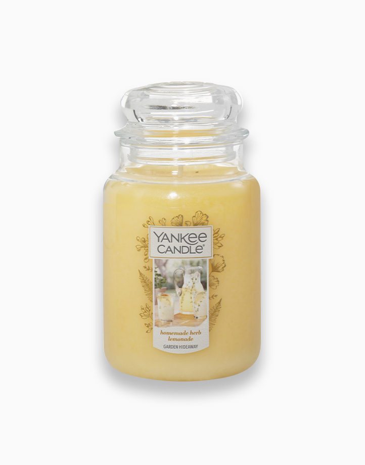 Classic Large Jar Candle by Yankee Candle   Homemade Herb Lemonade