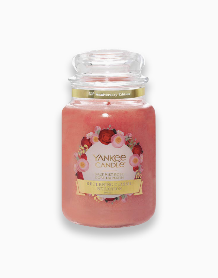 Classic Large Jar Candle by Yankee Candle   Salt Mist Rose