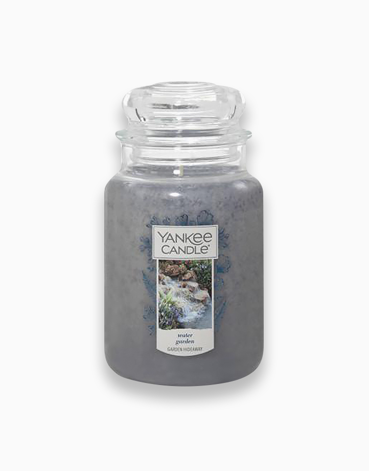 Classic Large Jar Candle by Yankee Candle   Water Garden