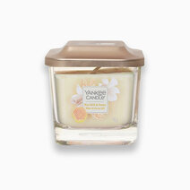 Yankee candle small 1 wick square candle rice milk and honey