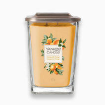 Yankee candle large 2 wick square candle kumquat and orange