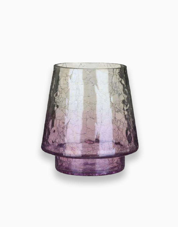 Savoy Purple CRKL Jar Candle Holder by Yankee Candle