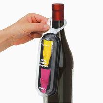 Rabbit wine bottle stoppers %28set of 2%29 in bottleneck packaging