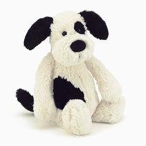 Jellycat Bashful Black and Cream Puppy (M) by Jellycat