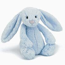 Jellycat Bashful Blue Bunny (M) by Jellycat