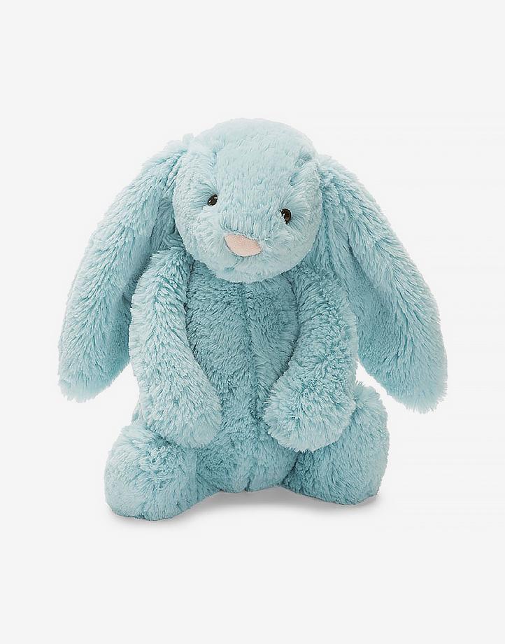Small Jellycat Bashful Aqua Bunny by Jellycat