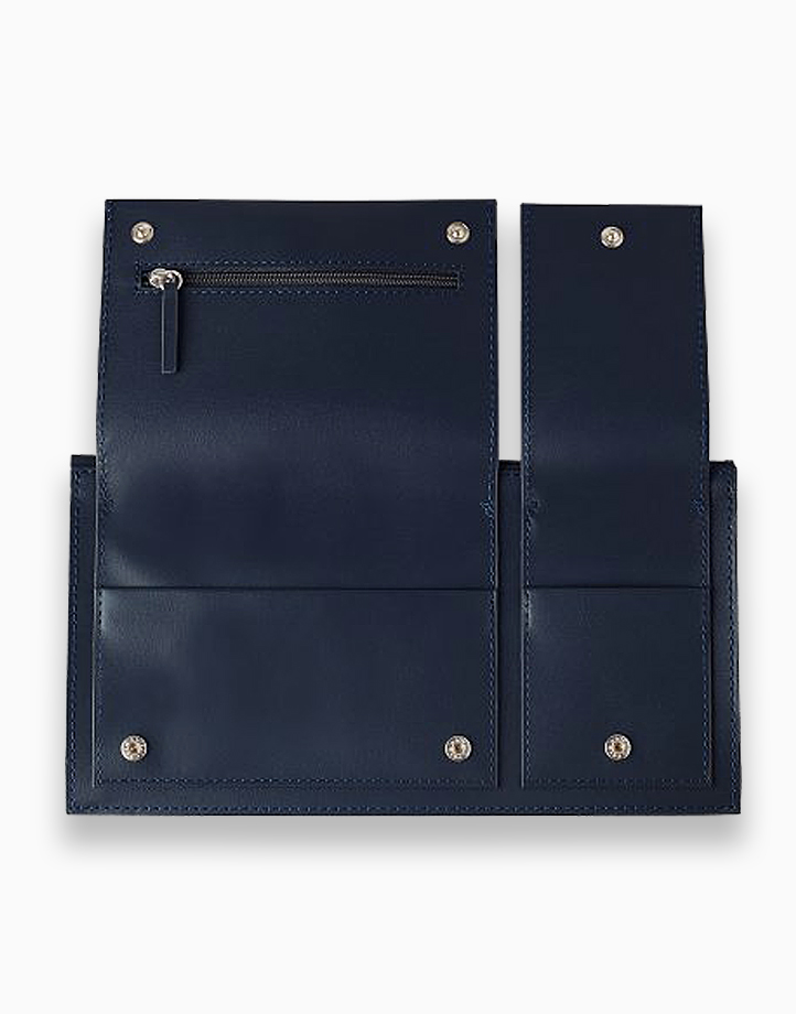 Multi-Pocket Travel Wallet by Lexon | Dark Blue