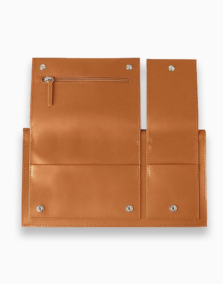Multi-Pocket Travel Wallet by Lexon | Brown
